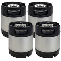 1.75 Gallon Ball Lock Keg Set of 4