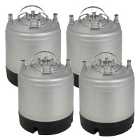 1.75 Gallon Ball Lock Keg Set of 2
