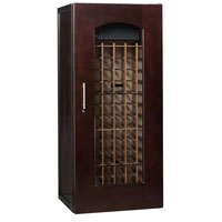 Le Cache Contemporary Series Model 1400 172-Bottle Wine Cellar in Chocolate Cherry Finish