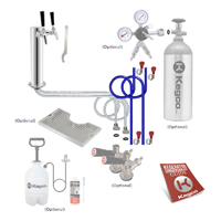 Ultimate Dual Tap Tower Kegerator Conversion Kit