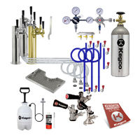 Custom Triple Tap Tower Kegerator Conversion Kit