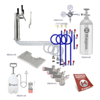 Ultimate Triple Tap Tower Kegerator Conversion Kit