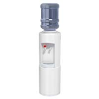 Round Hot 'N Cold Water Cooler w/WTG & Removable Reservoir