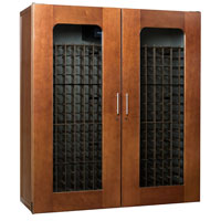 Le Cache Contemporary Series Model 5200 622-Bottle Wine Cabinet - Provincial Cherry Finish
