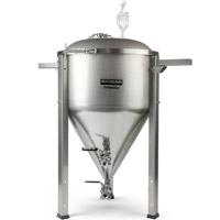 27 Gallon Conical Fermenator NPT Standard Fittings