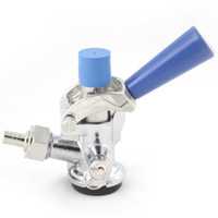 D System Keg Coupler - Blue Handle