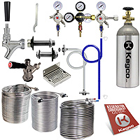 Kegco Customize Your Own Jockey Box Conversion Kit