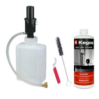 Standard Beer Cleaning Kit - 2 Qt. Bottle w/ 33 oz. Cleaner