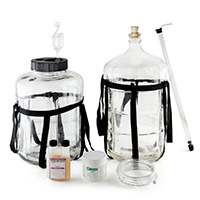 Cellarman Glass Carboy Starter Kit
