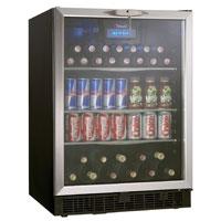 Silhouette Ricotta 5.3 Cu. Ft. Beverage Center - Stainless Steel Door