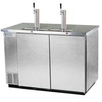 Kegerator Commercial 3-Keg Beer Cooler - Stainless Steel