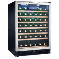 Danby DWC512BLS 51-Bottle Wine Refrigerator
