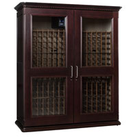 European Country Euro 5200 622-Bottle Wine Cellar - Chocolate Cherry Finish