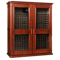 European Country Euro 5200 622-Bottle Wine Cellar - Classic Cherry Finish