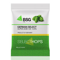 German Select Hop Pellets - 1 oz Bag