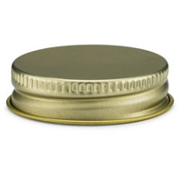 38mm Gold Metal Screw Cap