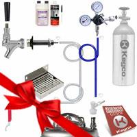 Ultimate Door Mount Home Brew DIY Kegerator Keg Tap Conversion Kit
