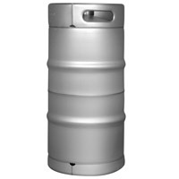Inventory Reduction - Brand New Slim 7.75 Gallon Commercial Kegs - Drop-In D System Sankey Valve
