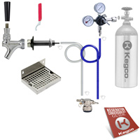 Kegco Low Profile Deluxe Door Mount Kegerator Conversion Kit