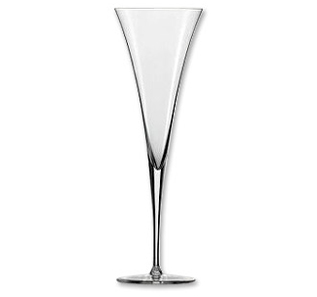 Enoteca Toasting Flute Champagne Wine Glass - Set of 2