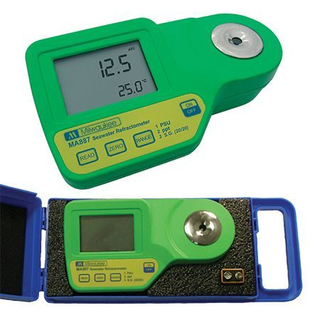 Milwaukee MA884-BOX Digital Refractometer for Wine & Grape Product Measurements