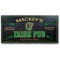 CUSTOMIZE - Personalized Sports Irish Pub Murphy Bar