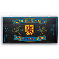 CUSTOMIZE - Personalized Scottish Pub Murphy Bar