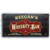 CUSTOMIZE - Personalized Whiskey Murphy Bar