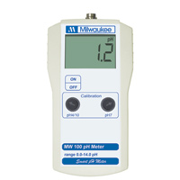 Milwaukee MW100 pH Meter (0.1 pH Resolution)