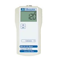 Milwaukee MW301 EC Conductivity Meter (10 uS/cm resolution)