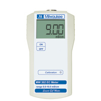 Milwaukee MW302 EC Conductivity Meter (0.1 mS/cm resolution)