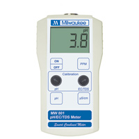 Milwaukee MW801 pH/EC/TDS Combo Meter (0-1990ppm)