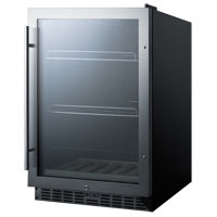 Summit SCR2466B Beverage Cooler