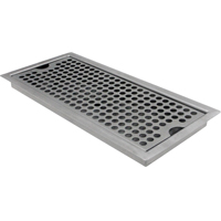 Stainless Steel Flush Mount Drip Tray w/ Drain