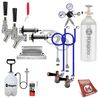 Ultimate Door Mount Kegerator Two Keg Tap Conversion Kit