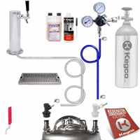 Ultimate Home Brew Tower DIY Kegerator Conversion Kit