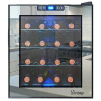 Vinotemp VT-16TSBM 16 Bottle Thermoelectric Wine Cooler