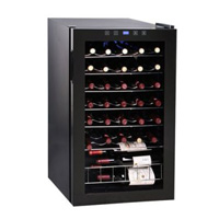 Vinotemp VT-34S 34-Bottle Wine Cooler with Stainless Steel Door Trim