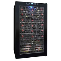34-Bottle Touchscreen Wine Varietal Wine Refrigerator
