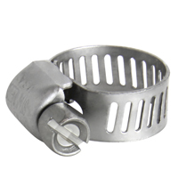Worm Drive Clamps for 3/8 or 1/2 Inch ID Tubing