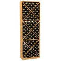 Solid X-Cube Wine Rack