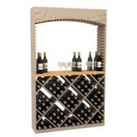 Diamond Wine Bin Table Top