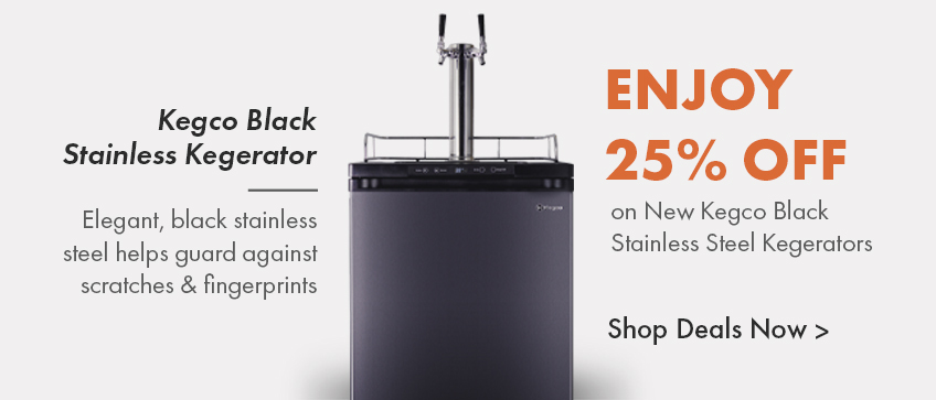 25% off +Free shipping on all black stainless steel models