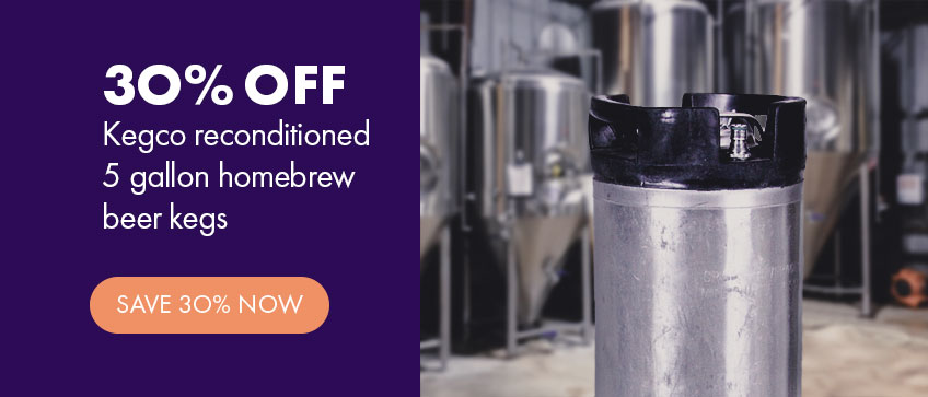 Used Keg Sale - 30% Off Reconditioned Ball Lock Kegs