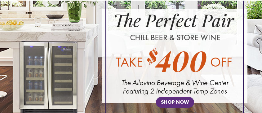 Take $100 Off Allavino Beverage Center
