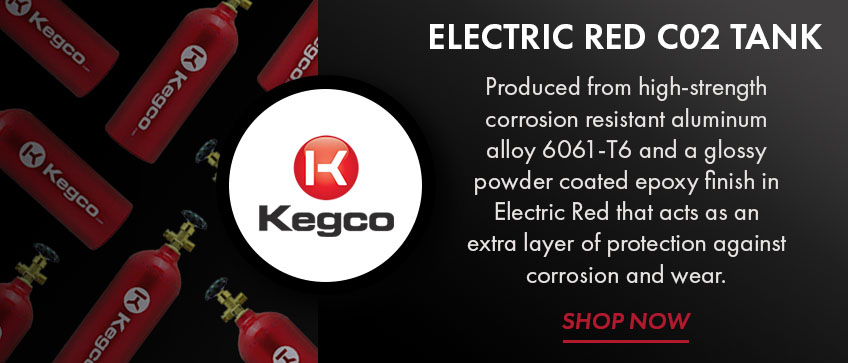 Take 20% Off Kegco C02 Tanks