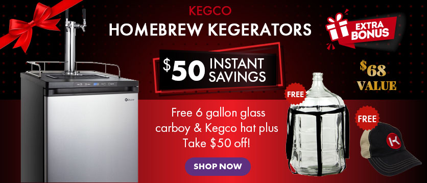 Homebrew Kegerator Holiday Special