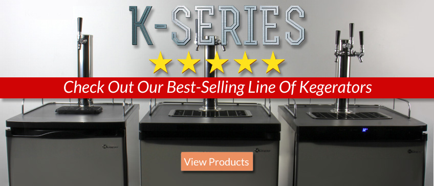 Kegco K Series Kegerators - Our Best-Selling Line of Beer Dispensers