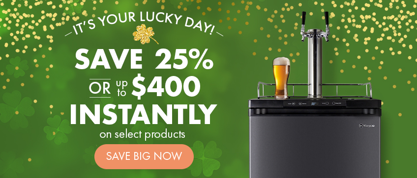 It's your Lucky Day! Save up to $400 Instantly on select products