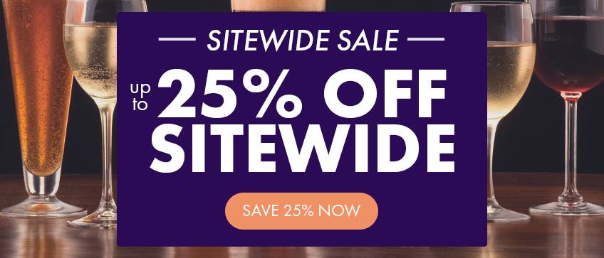 Up to 25% Off Sitewide Sale